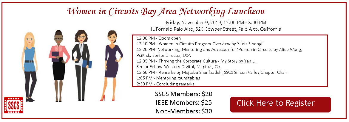 Bay Area Women in Circuits Luncheon 2018